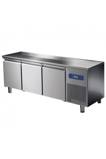 Tavolo freezer 600 mm a 3 porte, -10°/-20°C