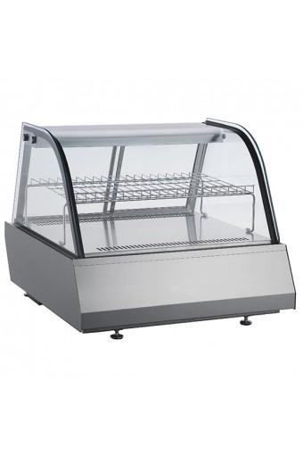 Espositore refrigerato vetri scorrevoli, +2°C/+10°C, cap. 2x GN1/1