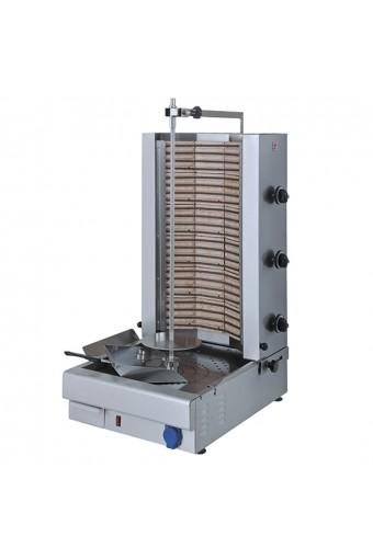 Gyros elettrico con 3 zone di cottura - cap. 75 kg.