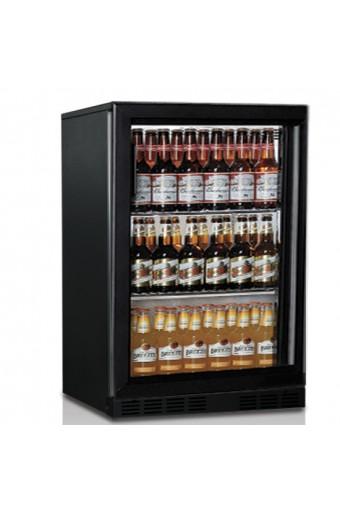 Vetrina refrigerata sottobanco 1 porta battente, Cap 138 litri , 2 griglie +1/+10 °C