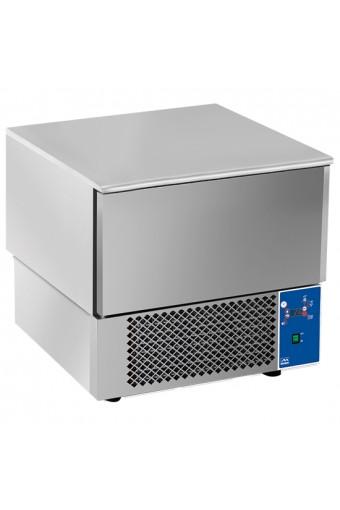 Abbattitore di temperatura, -18°C, 3x GN 1/1 o teglie  60x40, 11 Kg.