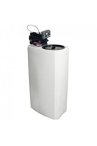 Addolcitore acqua automatico, capacità 8 litri, 800 litri/h, riserva sale 25 kg
