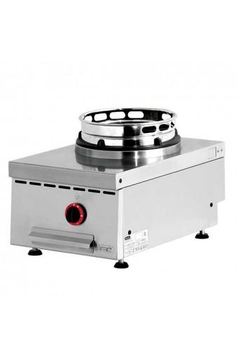 Piano di cottura wok a gas da banco, 1fuoco