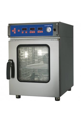 Forno combinato elettrico da 10x GN 1/1 con umidificatore, controllo digitale e autolavaggio