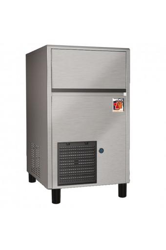 Produttore di ghiaccio a cubetti, raffreddamento ad aria, 47 kg/24 h