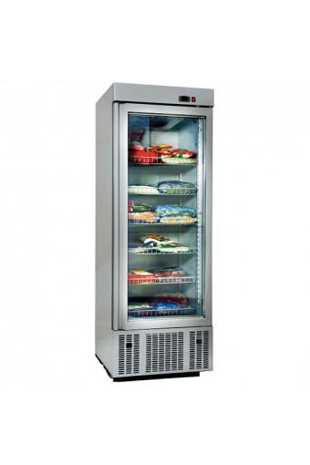 Frigorifero da 650 litri con 1 porta a vetro e 6 ripiani, -2°/+8°C