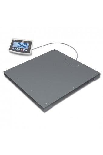 Bilancia da pavimento, portata massima 1500 kg, divisione 500 g