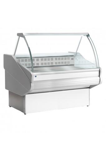 Banco bagnomaria da 1540 mm con vetro curvo, +70°C