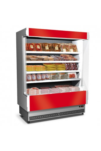 Murale refrigerato da 1580 mmcon 4 ripiani, 0°/+2°C - carne preconfezionata
