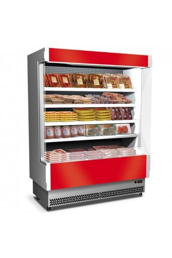 Murale refrigerato da 2080 mmcon 4 ripiani, 0°/+2°C - carne preconfezionata