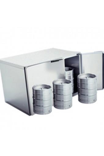 Refrigeratore fusti birra 6x 50 litri in acciaio inox, senza gruppo