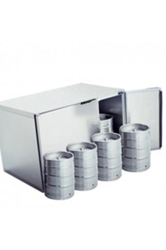 Refrigeratore fusti birra 8x 50 litri in acciaio inox, senza gruppo