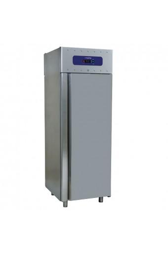 Freezer da 700 litri in inox, GN 2/1, -10°/-22°C, 85 mm insolamento