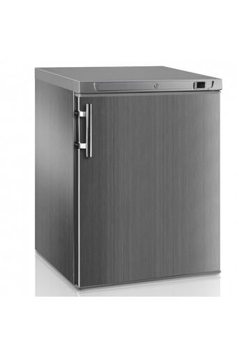 Congelatore da sottobanco in inox, 170 litri, temperatura di esercizio-18 °c/-24 °c
