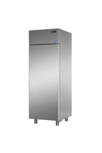 Armadio congelatore ventilato 600 litri interno e esterno in inox negativo temp.18°c/-22°c - USATO