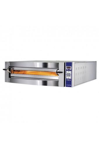 Forno pizza elettrico da 4 pizze ø 35 cm, controllo digitale