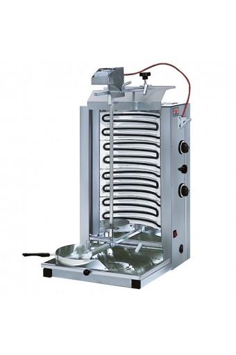 Gyros elettrico con 2 zone di cottura - cap. 35 kg.
