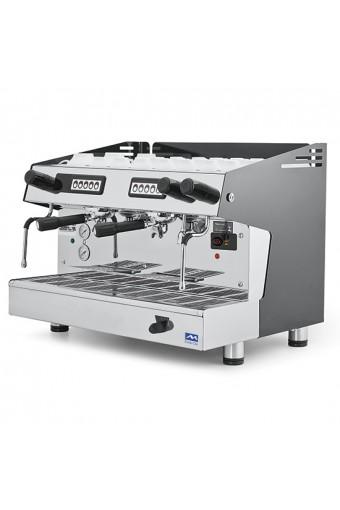 Macchina caffè automatica, 2 gruppi boiler 9 litri