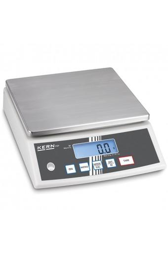 Bilancia da banco in acciaio inox, portata massima 3 kg, divisione 0,1 g