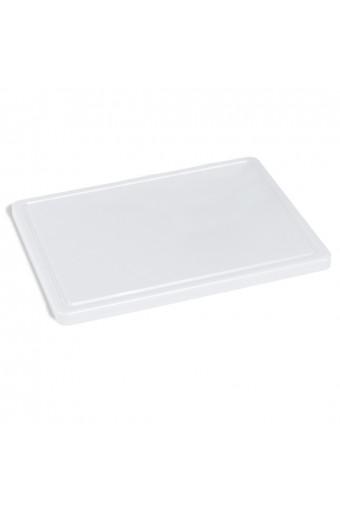 Tagliere per formaggi con canalina, 500x300 mm