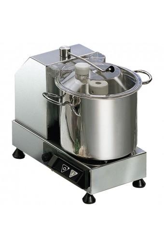 Cutter, 2 velocità, capacità 9,4lt modello per gastronomia,macelleria.