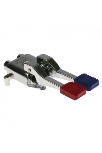 Miscelatore per installazione a pavimento senza valvola di non ritorno 2 pedali fredda e calda