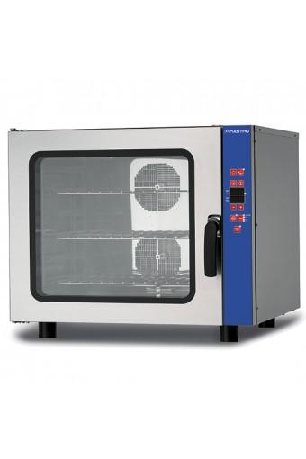Forno a convezione elettrico programmabile con umidifcatore, 6x GN 1/1 o 600x400 mm, 400V