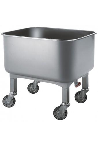 Vasca lavaggio carrellata, 130 litri