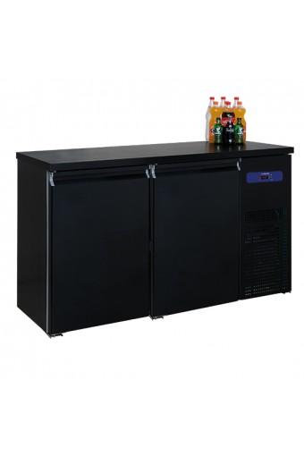 Refrigeratore bottiglie a 2 porte, 320 litri, -2°/+8°C