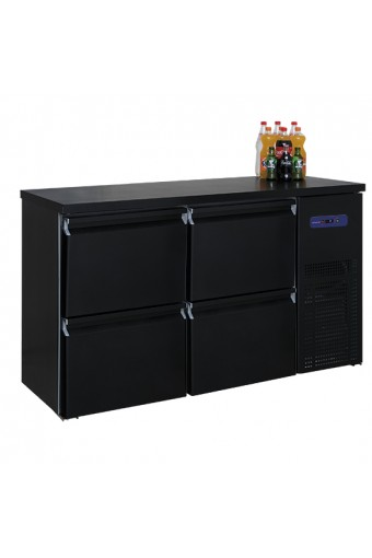 Refrigeratore bottiglie a 4 cassetti, 320 litri, -2°/+8°C