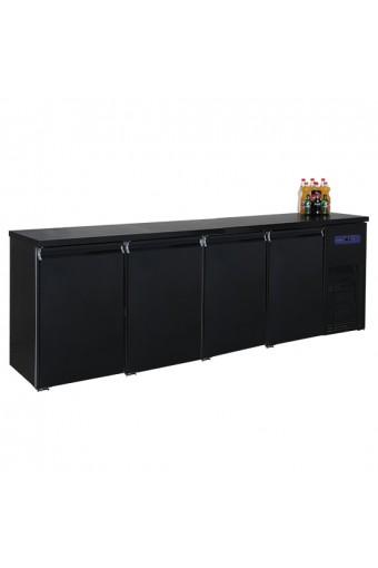 Refrigeratore bottiglie a 4 porte, 680 litri, -2°/+8°C