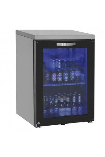 Vetrina refrigerata sottobanco sinistra 1 porta in vetro battente, 90 bottiglie , 0/+8 °C.
