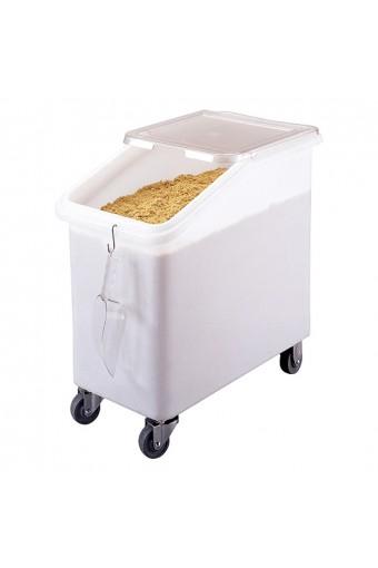 Roll container per alimentari su 4 ruote, 100lt