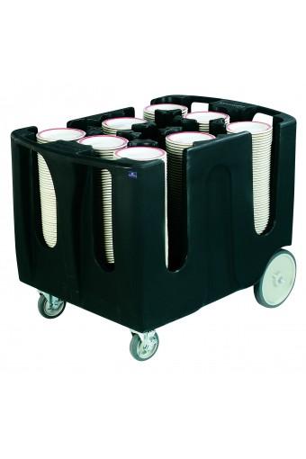 Carrello portapiatti con 6 divisori da 45/60 piatti
