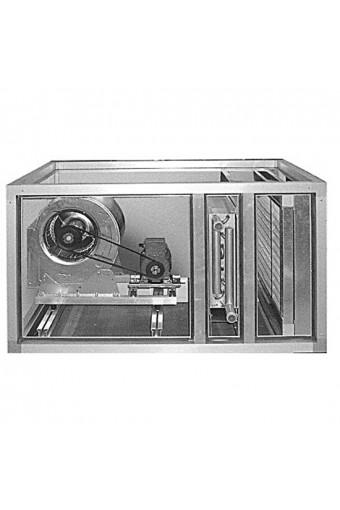 Unità termoventilante per risc aria a 2v, 3.000m3/h