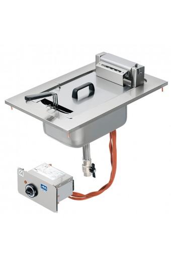 Friggitrice elettrica ad incasso, 8 litri