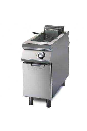 Friggitrice elettrica, 2 vasche, capacità 8+8 lt