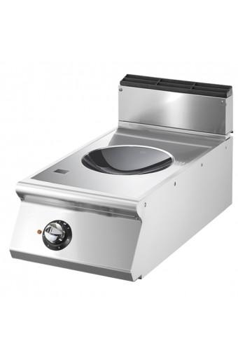 Piano di cottura ad induzione wok da banco