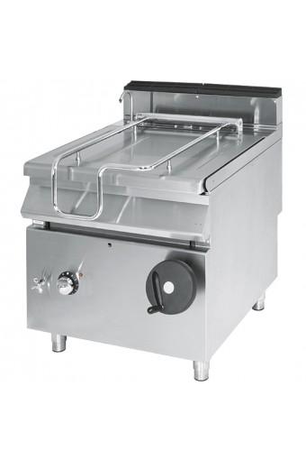 Brasiera ribaltabile elettrica vasca inox capacità 50 lt
