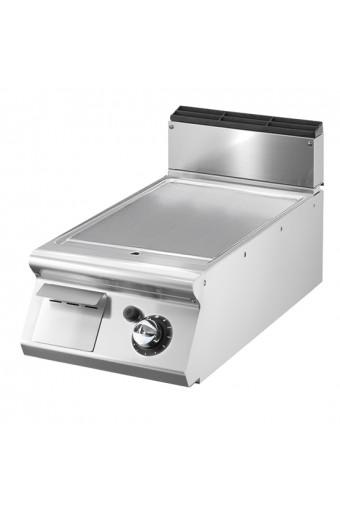 Fry-top gas piano stampato piastra liscia da banco