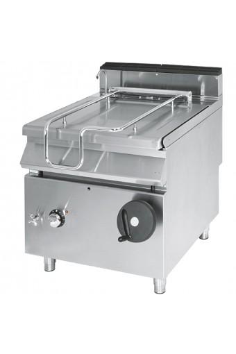 Brasiera ribaltabile elettrica vasca inox capacità 80 lt