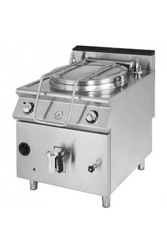 Pentola gas riscaldamento indiretto capacità 150 lt