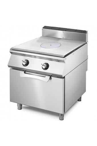 Cucina tutta piastra elettrica su forno elettrico statico
