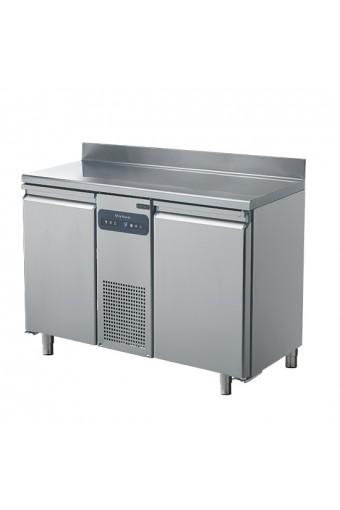 Tavolo freezer a 2 porte GN 1/1, con alzatina, -10°/-22°C
