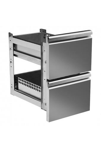 Kit cassetti gn da 2x 1/2 per tavoli refrigerati da profondità 700 mm-SHOWROOM