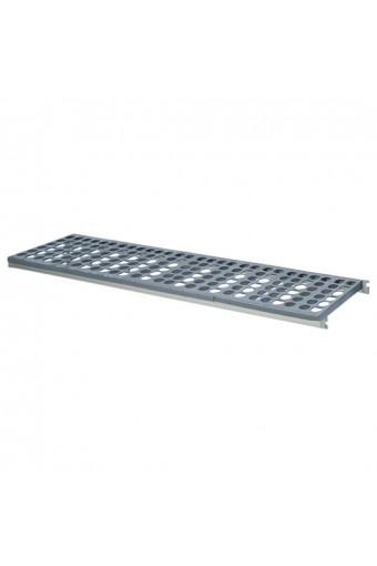 Ripiano per scaffale in alluminio, 1300x470 mm