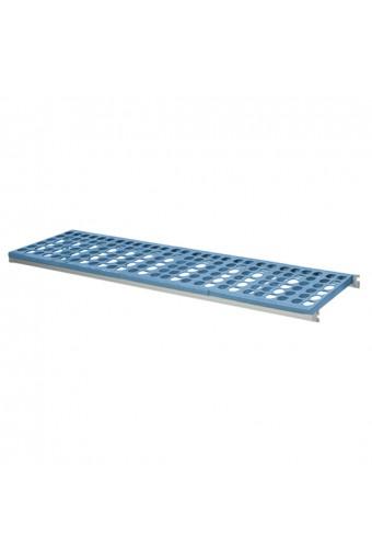 Ripiano per scaffale in alluminio, 1255x560 mm