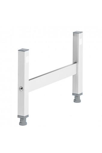 Supporto per scaffale in alluminio, p=370 mm
